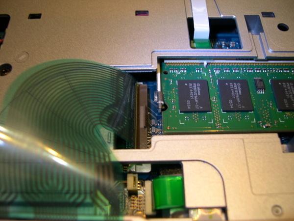 鍵盤排線&512記憶體