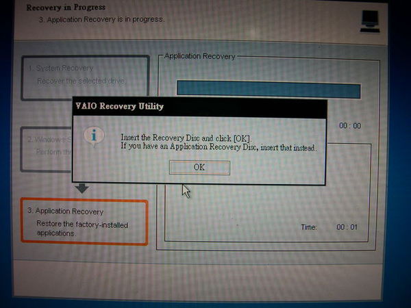 Application Recovery