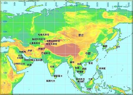 東南亞地圖