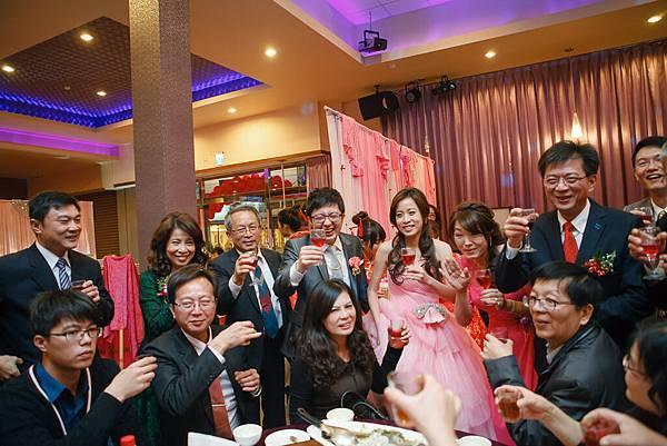 20150117 家維&孟婷  幸福婚禮