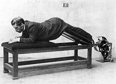百年前滑稽的健身器