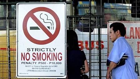 菲律賓禁菸令上路 違者最高罰款6000台幣或坐牢4個月