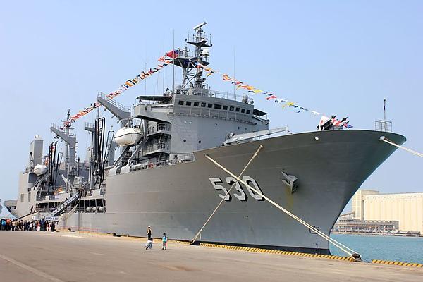 武夷油彈補給艦530