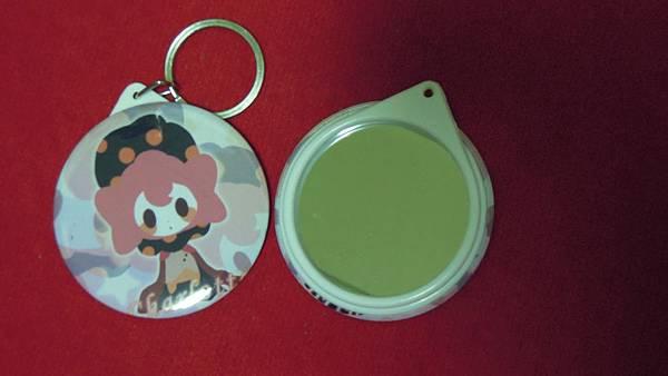58MM鏡子鑰匙圈