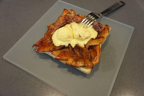 反烤肉桂蘋果派
