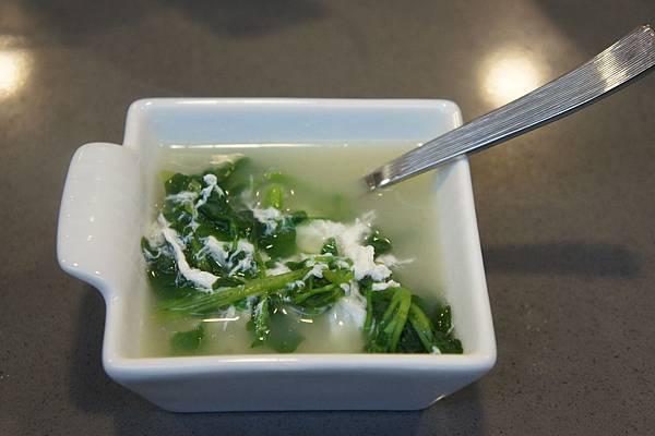 鹹蛋西洋菜湯