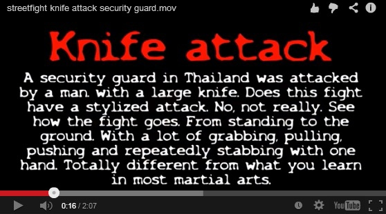 knife attack