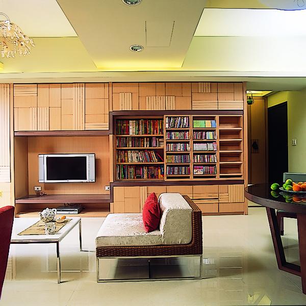 客廳收納,雙層書櫃,覲得.jpg