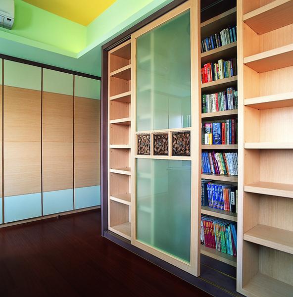 書房,雙層書櫃,覲得.jpg