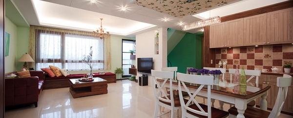 鄉村風餐廳設計,鄉村風客廳設計,覲得.jpg