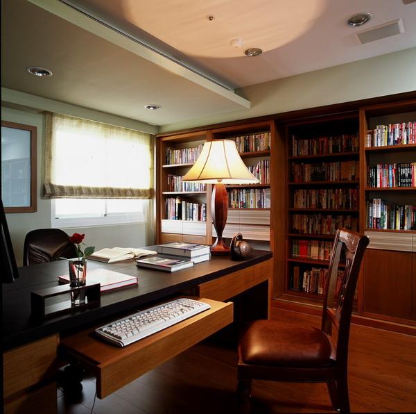 雙層書櫃,書房,覲得.jpg