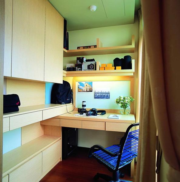 書房設計,書桌,覲得.jpg