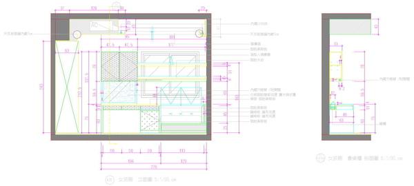 書桌含吊櫃立面圖,覲得.jpg