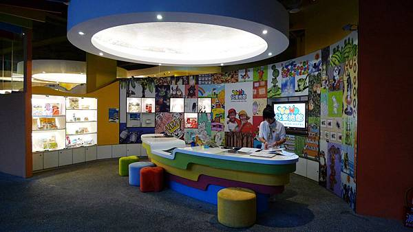 兒童旅館櫃檯