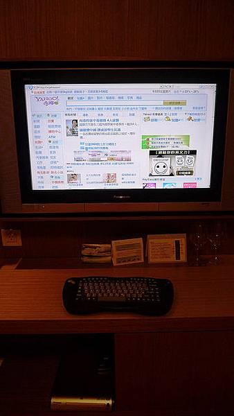 房間電視可以直接上網