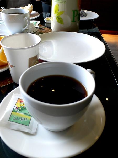 老闆娘自己煮的咖啡