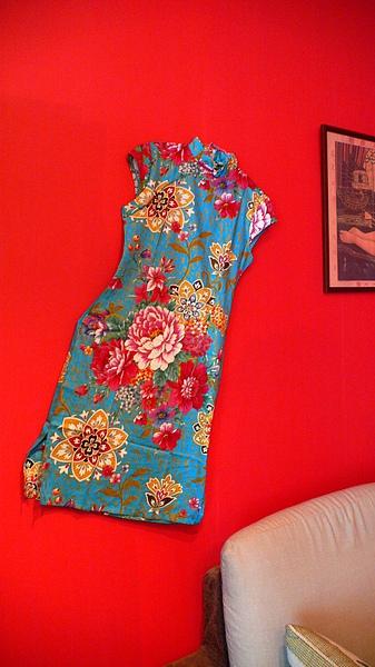 用旗袍當裝飾品很酷