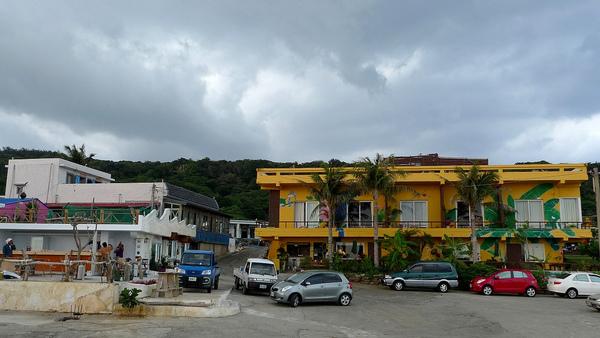 香蕉灣民宿,就在香蕉灣港口邊