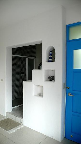 廁所是開放式的