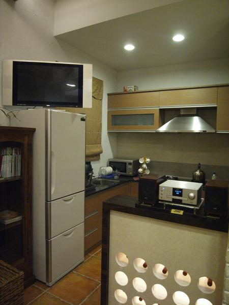 小而精緻的廚房