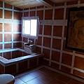 四人房的浴室,很大一間