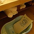飯店提供的兒童澡盆