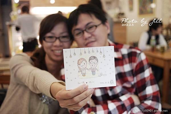 momo送我們的紀念畫