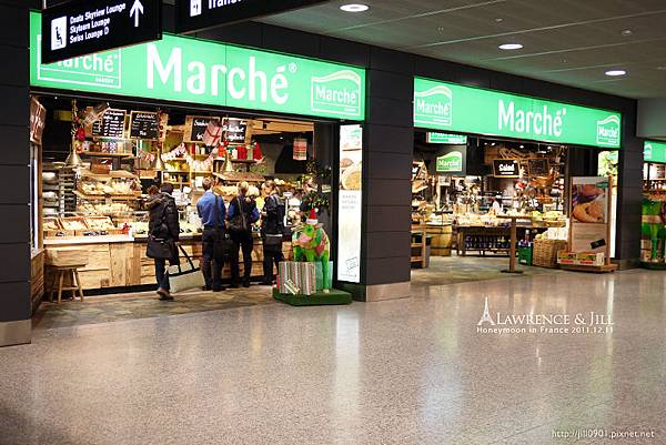 蘇黎世航站_麵包店