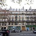 巴黎住宿公寓外觀
