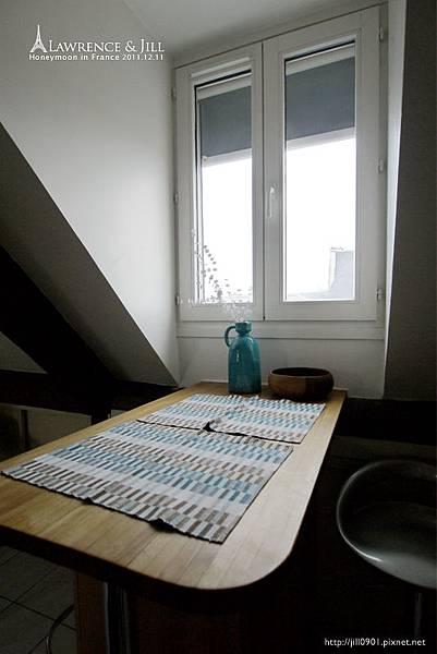 巴黎公寓吧檯