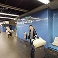 抵達Chatelet-Les-Halles站