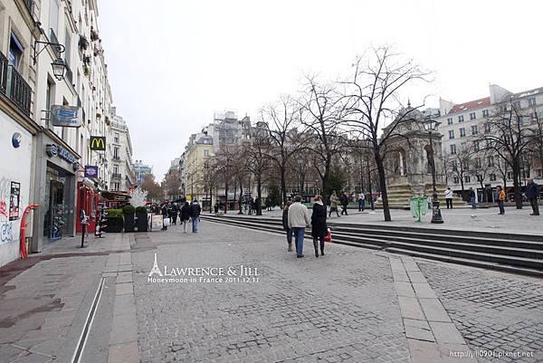 巴黎公寓附近隨手拍