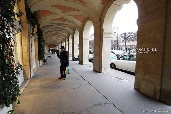 孚日廣場旁的拱廊
