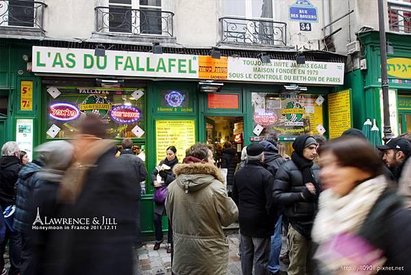 人爆多的L'as-Du-Fallafe