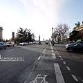 邱吉爾大道兩側的大小皇宮