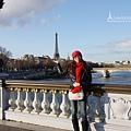 亞歷山大三世橋與艾菲爾鐵塔