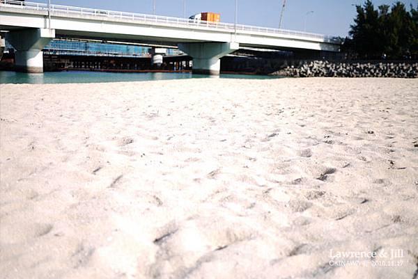 波上海灘的沙
