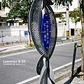 波上海灘指示牌