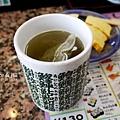 迴轉壽司_綠茶