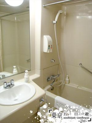 浴室,小小的浴缸也很棒喔
