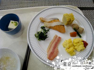 春日居的早餐很日式,吃的超不習慣的