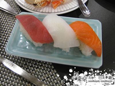 龍大爺拿的生魚片