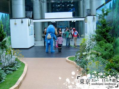 又遇到富士狗了,還背個小包包,超可愛的