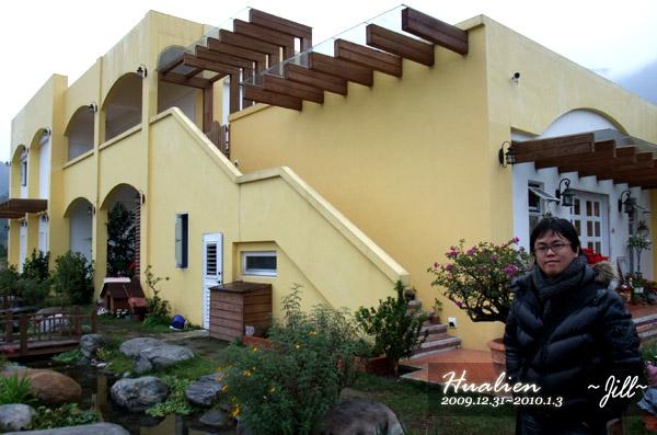 鵝黃色的建築很可愛吧!