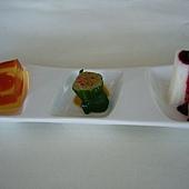 藍莓山藥+彩椒水蓮+蒟蒻番茄.JPG