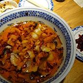 撈完辣椒後的沸騰魚