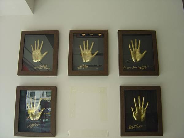 牆上的神話手印