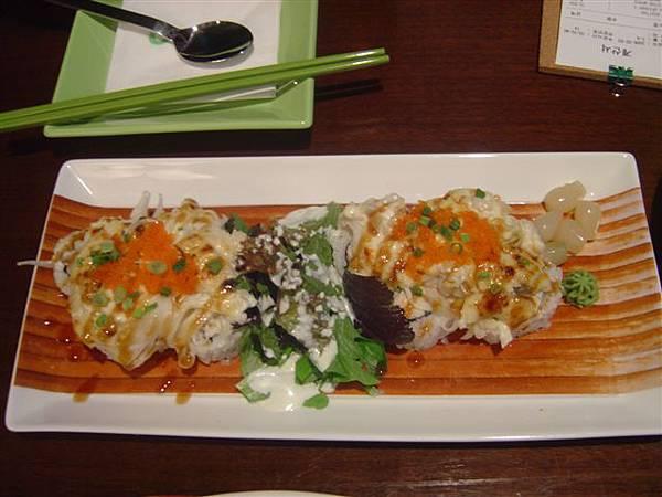 這道壽司很好吃