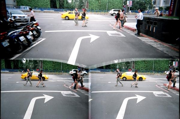 好像在拍向左走 向右走!