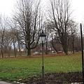 飯店外的小公園
